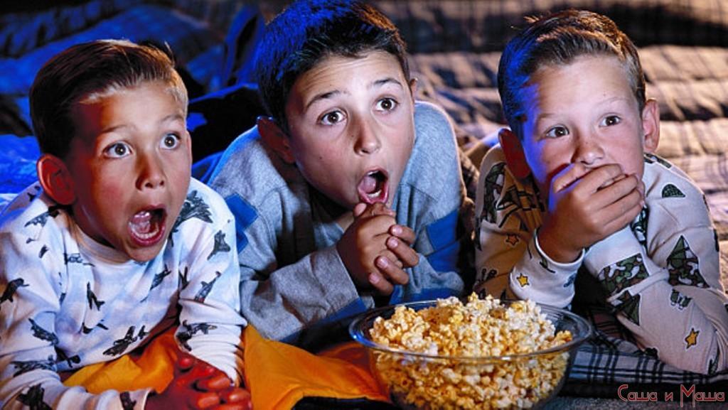 Какие мультфильмы смотрят дети