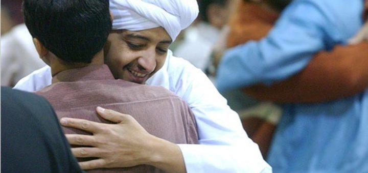 Объятия в Исламе