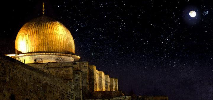 Аль Исраваль Мирадж - ночь чудесного Путешествия из Мекки в Иерусалим и Вознесение на небеса Пророка Мухаммада