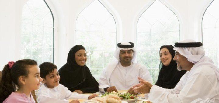 Как вести себя в коллективе за одним столом в Исламе