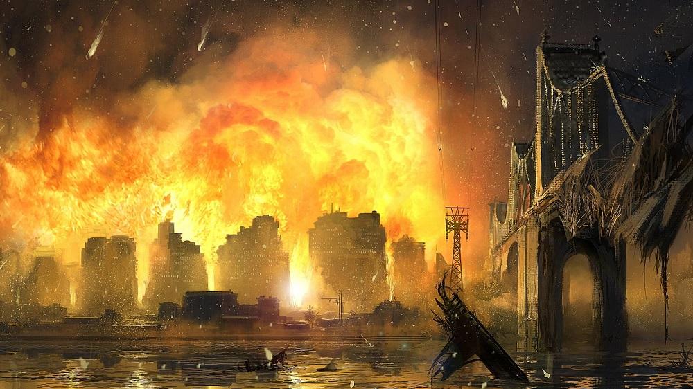 Огонь из Йемена - последний большой признак Конца Света